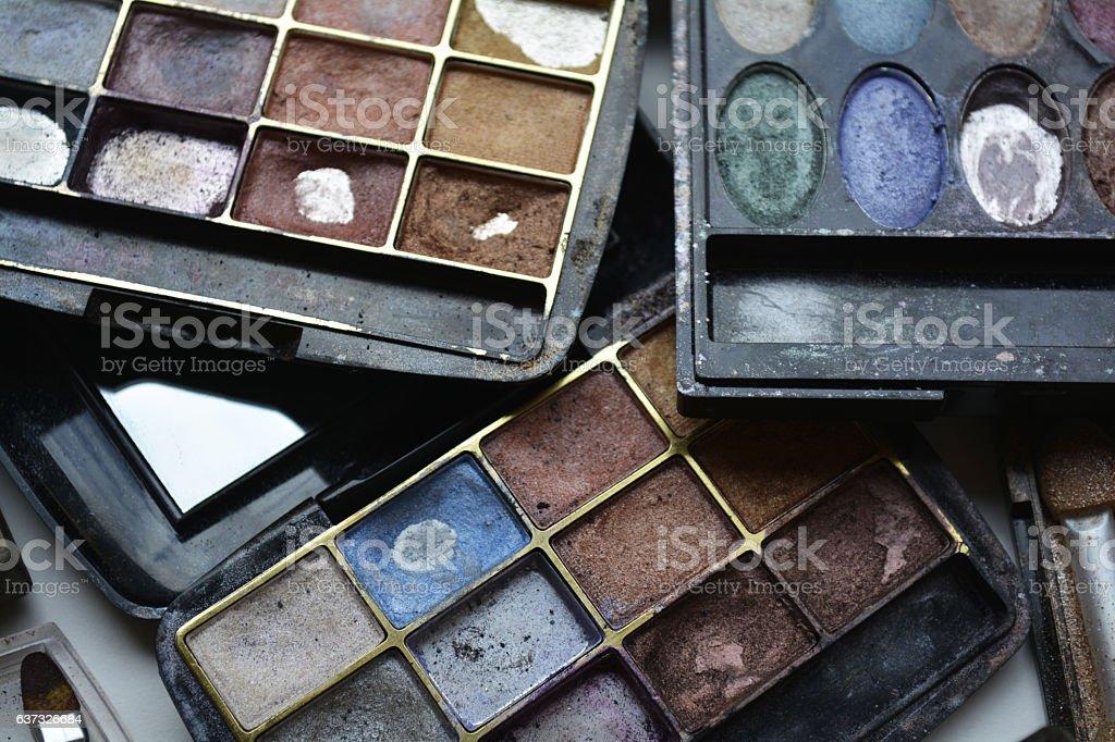 paint makeup stock photo