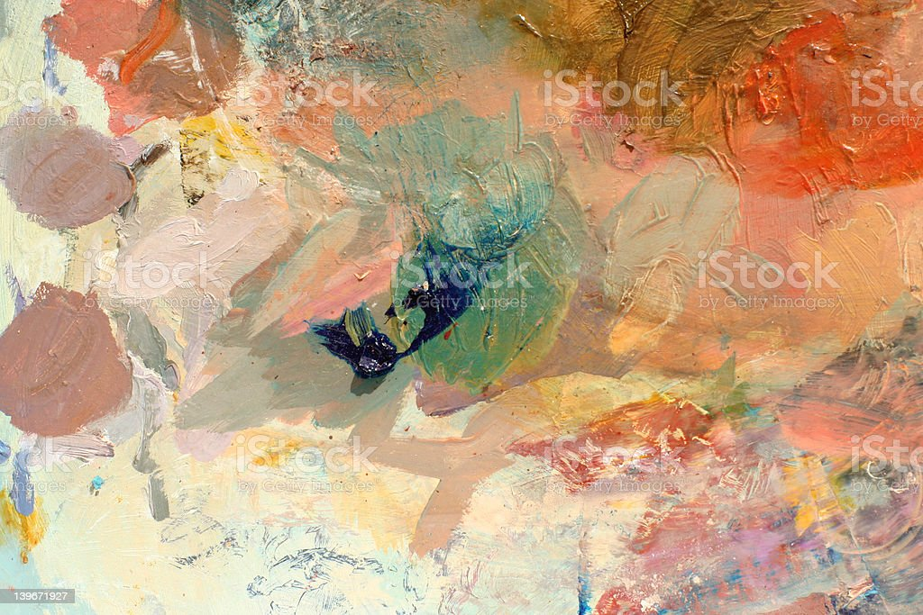 paint palette background 2 royalty-free stock photo