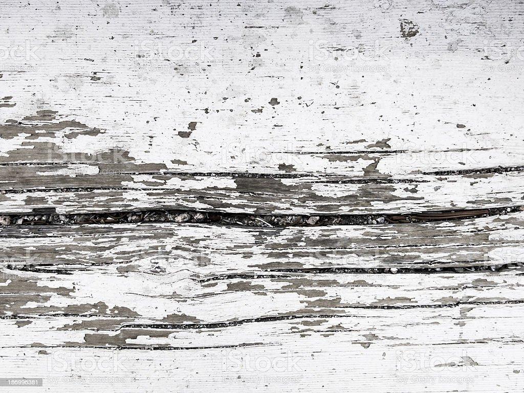 Paint Peeling on Wood royalty-free stock photo