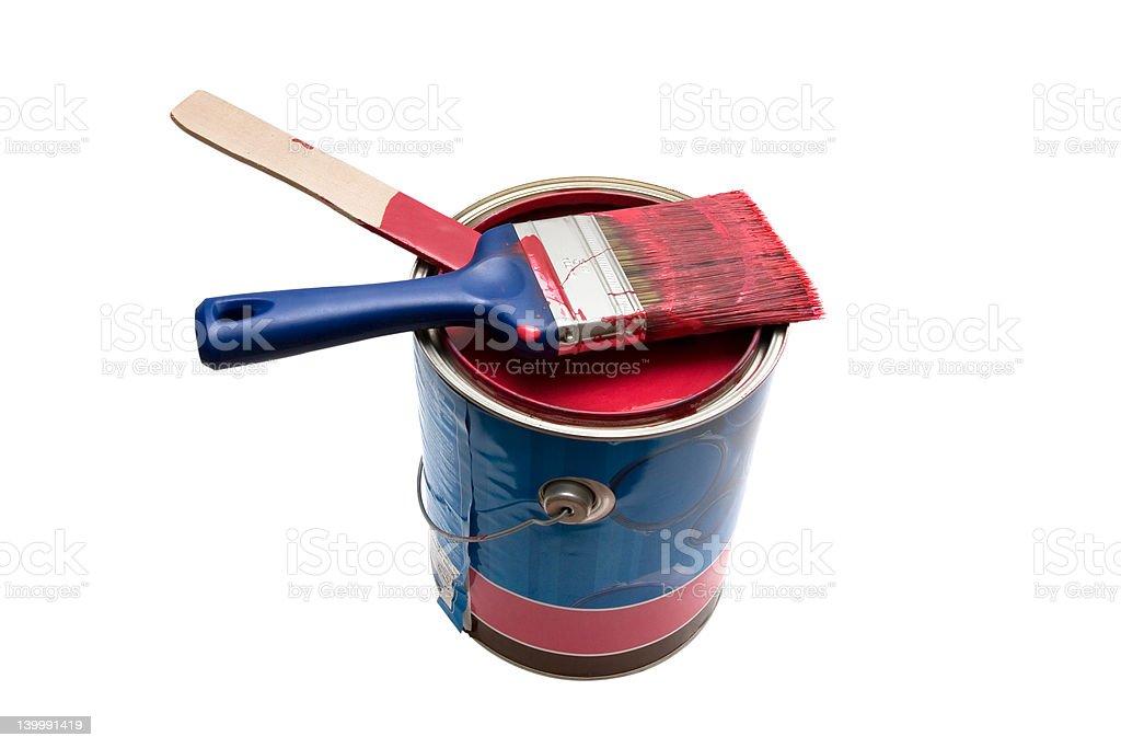 Paint royalty-free stock photo