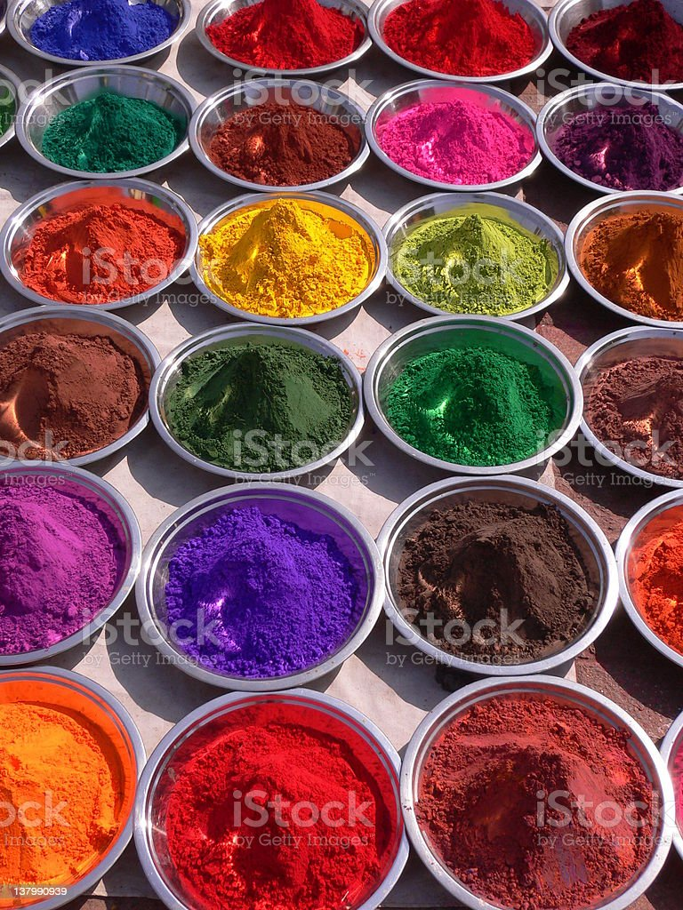 paint pigment royalty-free stock photo