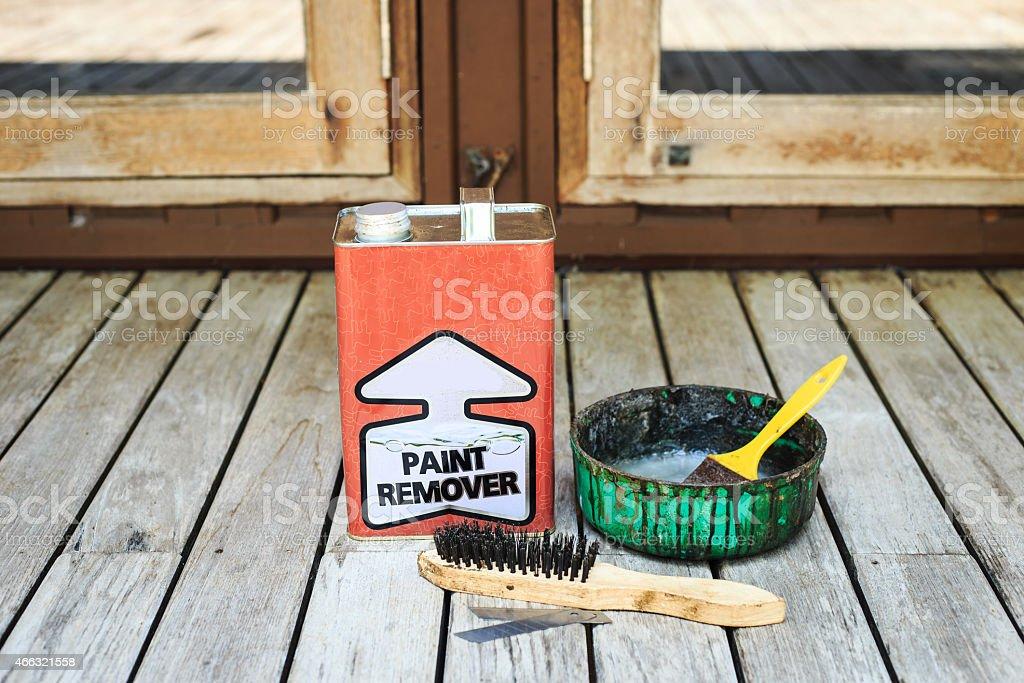 Paint remover equipment stock photo