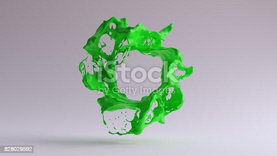 istock Paint Splash Green 828029592