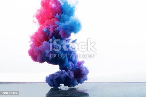 578561164 istock photo Paint splash on a white background. 580089662