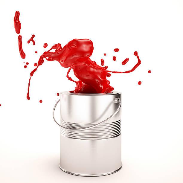 paint splash - zinn farbe stock-fotos und bilder