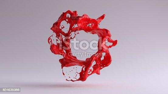 istock Paint Splash Red 824635986