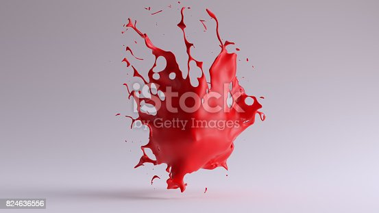 istock Paint Splash Red 824636556
