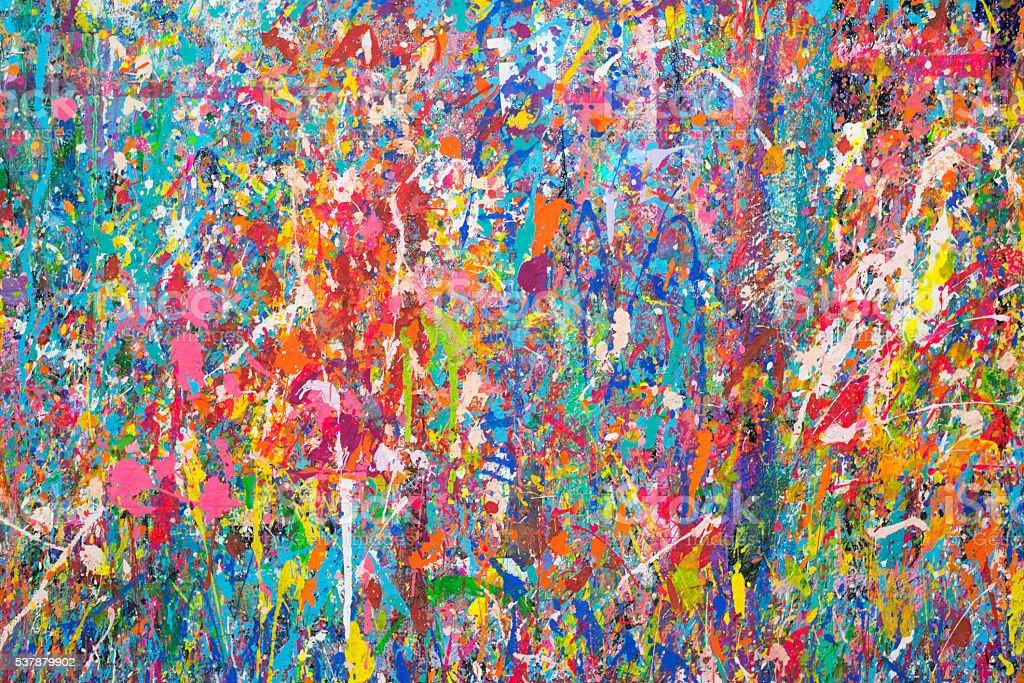 Paint Splatter stock photo