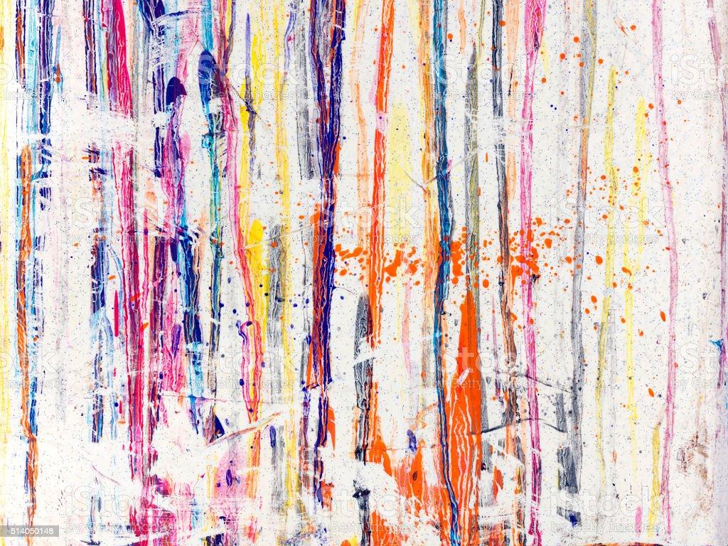 Paint splattered stock photo