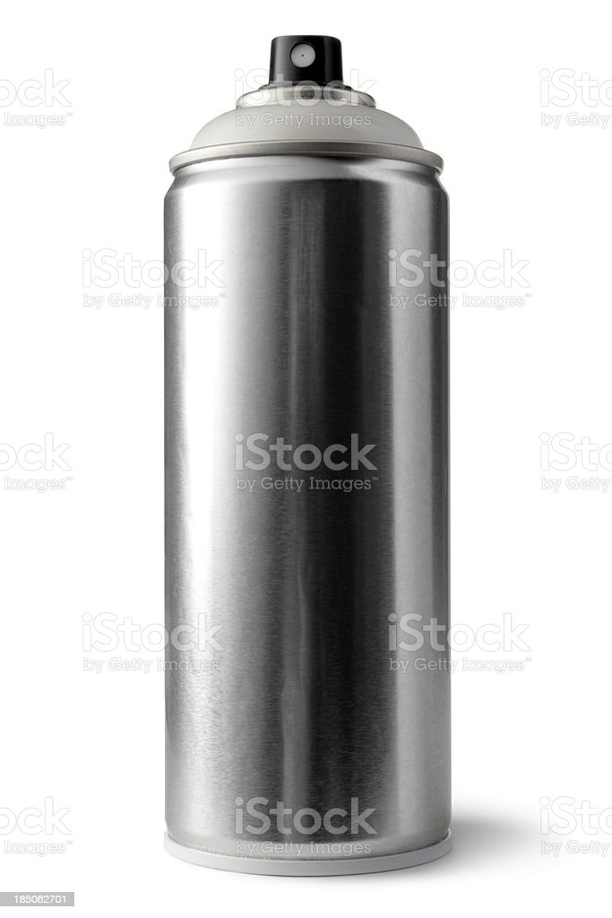 Paint: Spray Can royalty-free stock photo