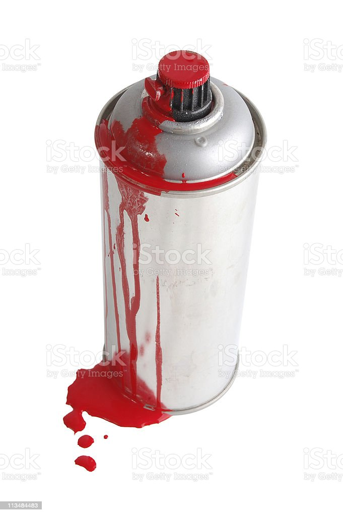 Paint spray stock photo