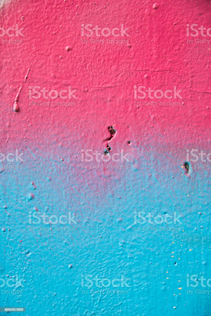 Paint stains on the wall stock photo