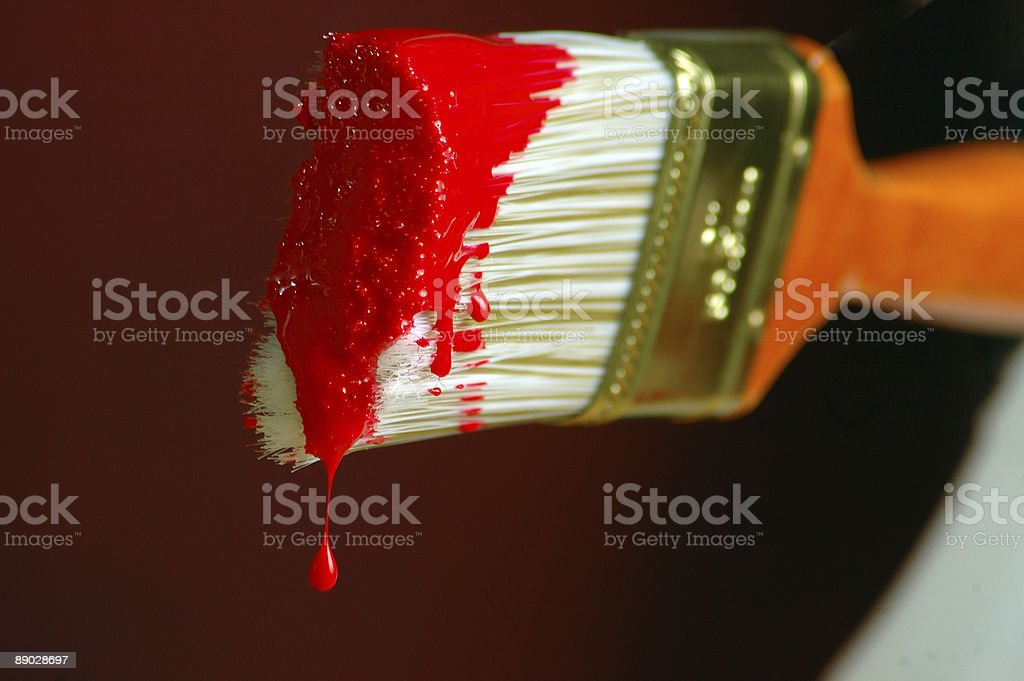 paint the town red royalty-free stock photo