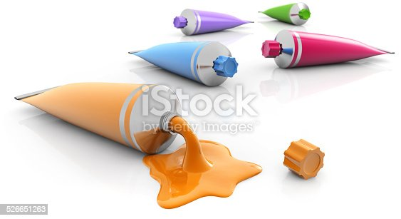 istock paint tubes 526651263