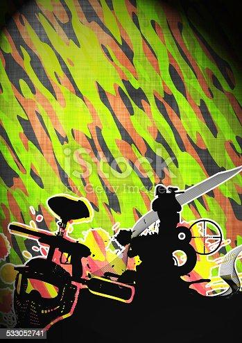 istock Paintball 533052741
