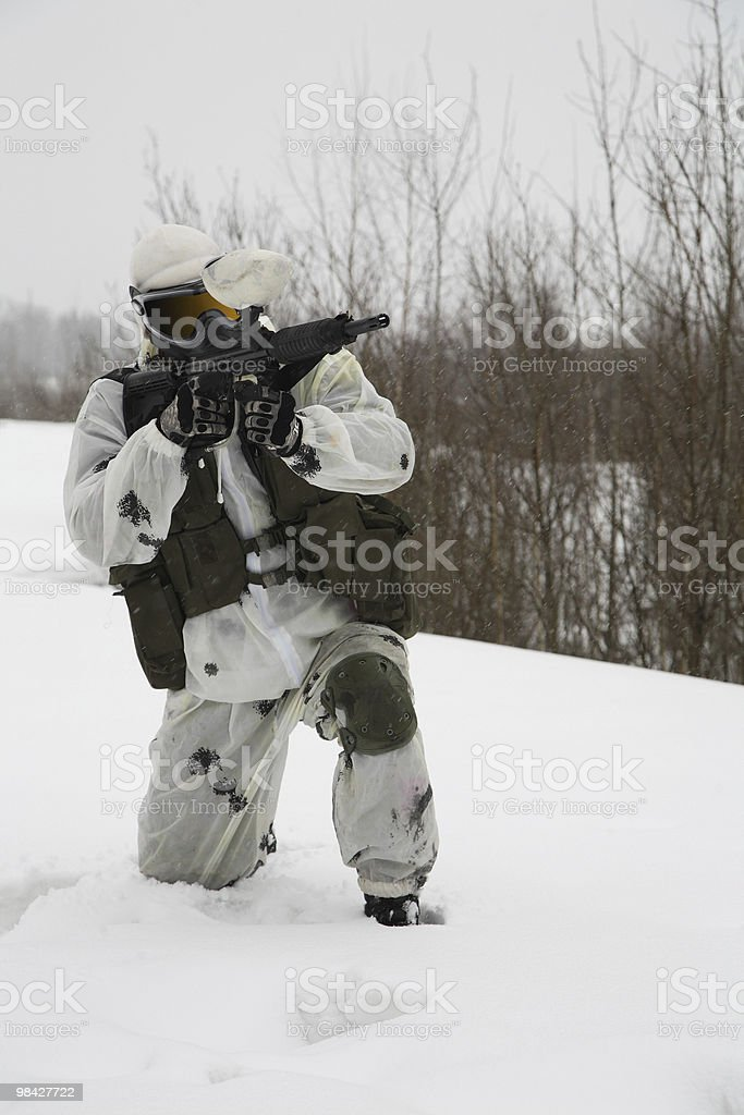 paintball royalty-free stock photo