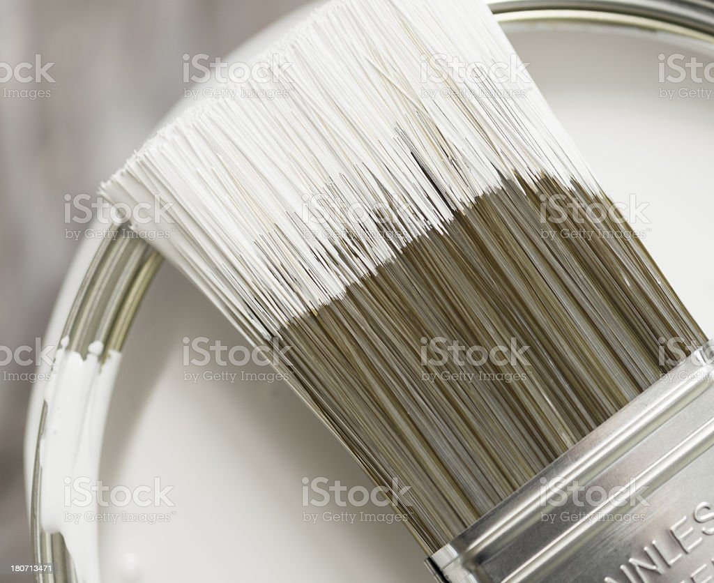 Paintbrush Detail stock photo