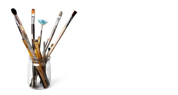 Paintbrush. stock photo