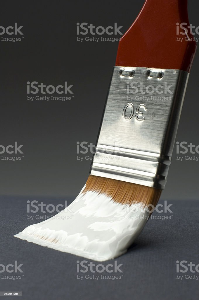 paintbrush royalty free stockfoto