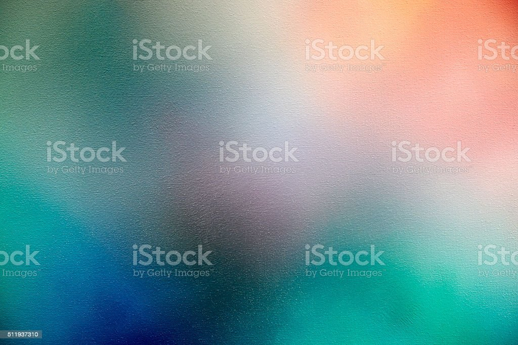 Painted Background – blue, green, apricot stock photo