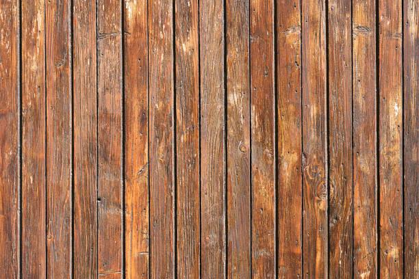 Bemalte braune Brettwand – Foto
