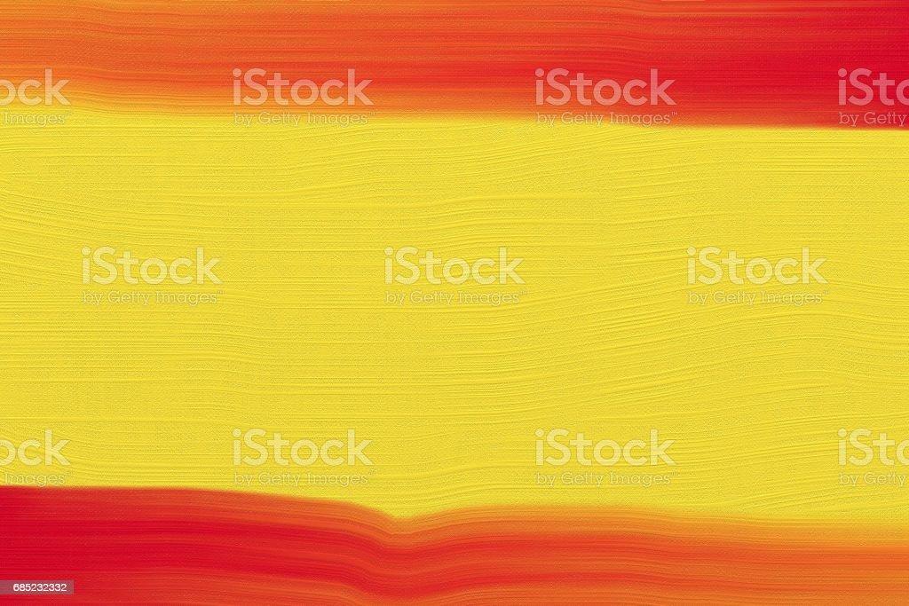 Painted canvas with oil foto de stock libre de derechos