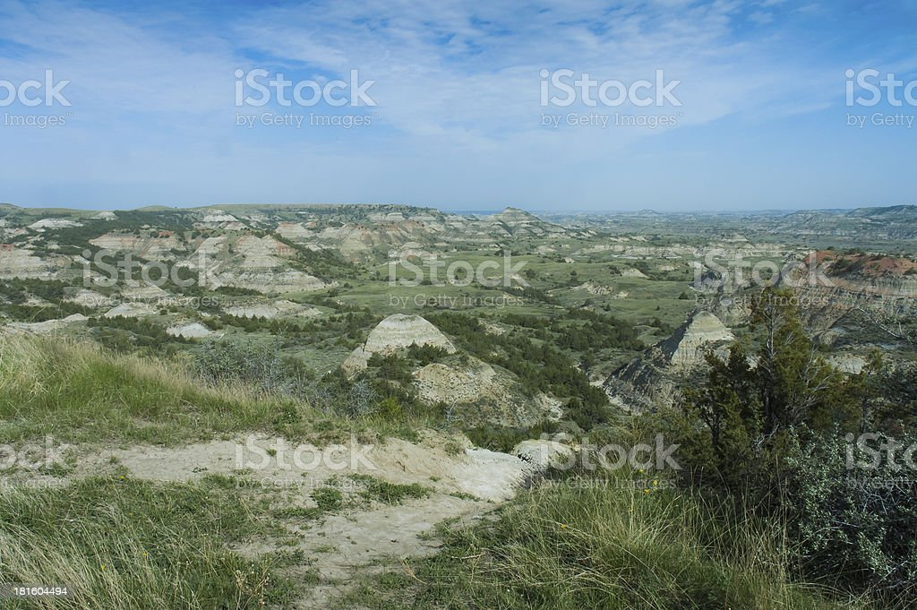 Painted Canyon Scenic view royalty-free stock photo