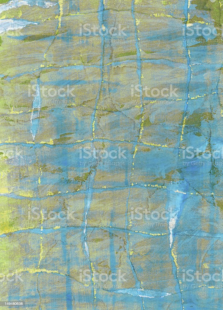 Painted collage, grunge paper texture royalty-free stock photo