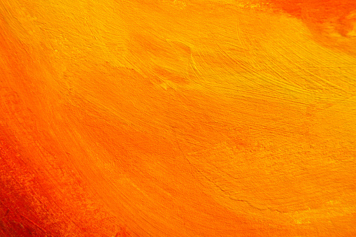 istock Painted Color Background, Abstract Orange Paint Texture 906654658