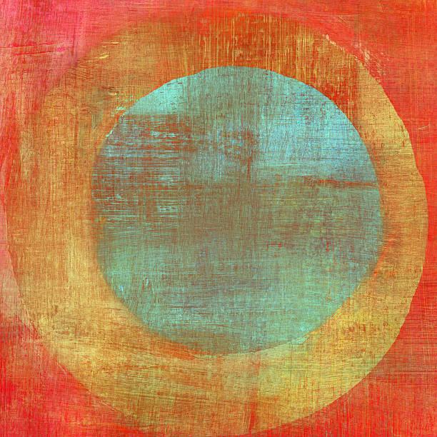belle composition de cercles concentriques - cercle concentrique photos et images de collection