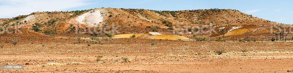 Painted Desert, Arkaringa Hills, Australia stock photo