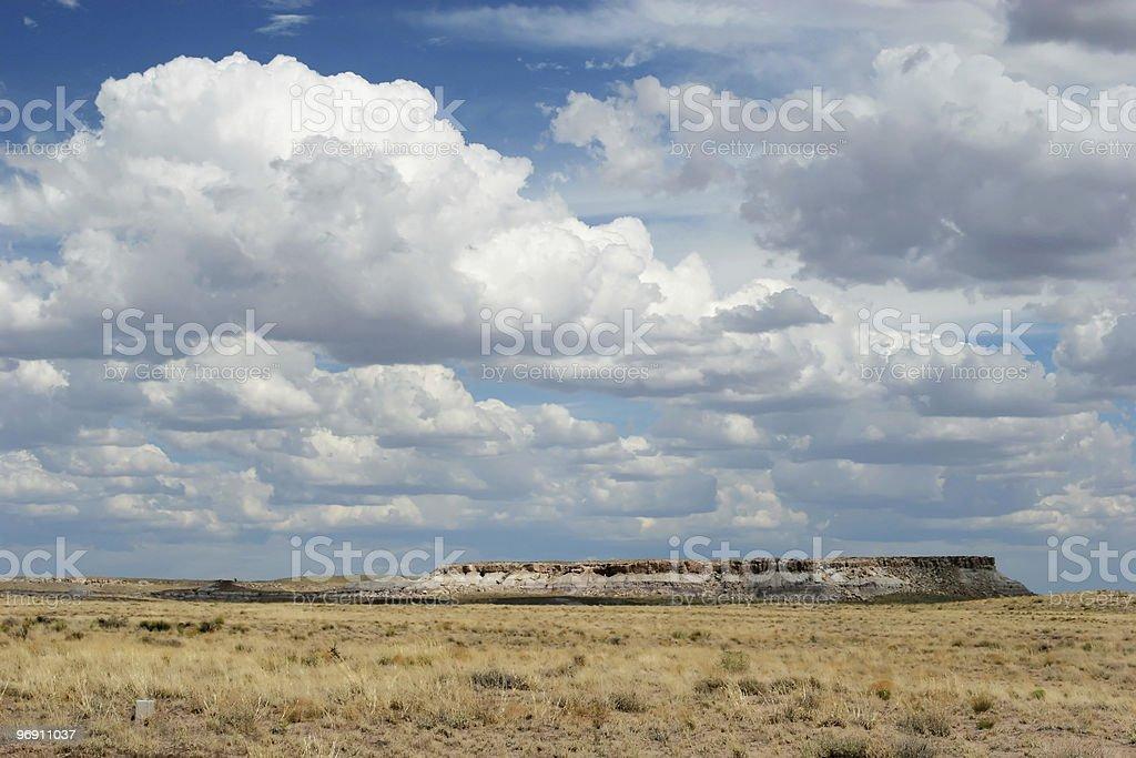 Painted desert royalty-free stock photo