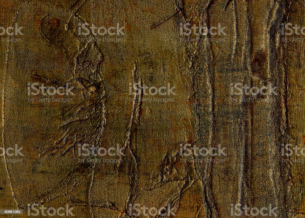 Painted Fabric royalty-free stock photo
