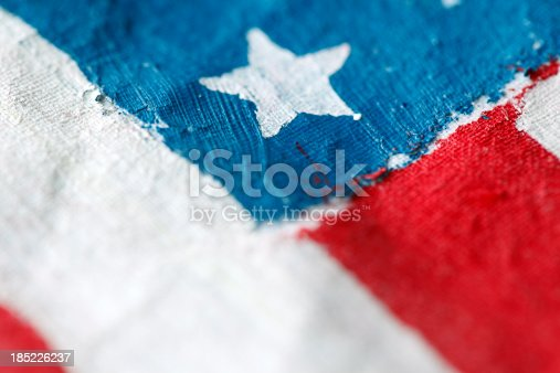 182764873istockphoto Painted flag 185226237