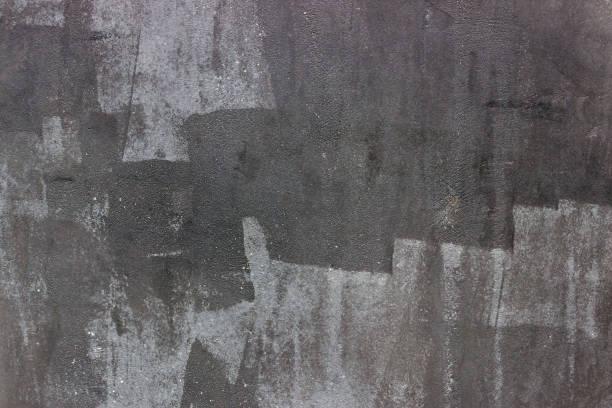 Fond de fragments peints de texture. Peinture abstraite texturée. Noir. - Photo