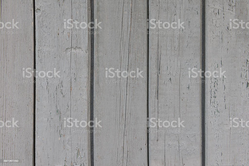 painted gray old wooden boards royalty-free stock photo