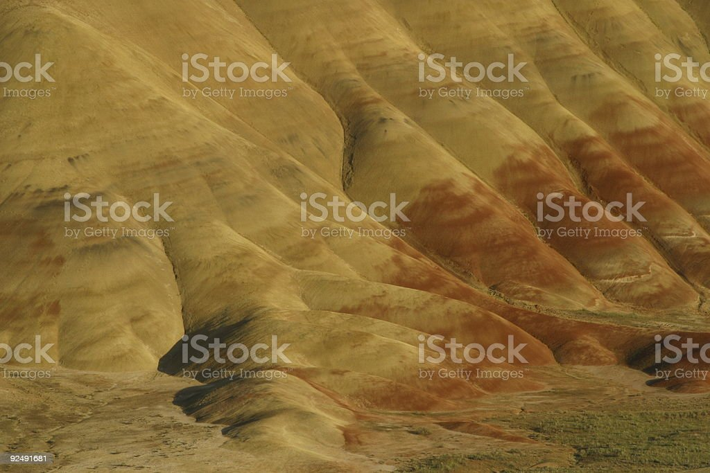 Painted hills 2 royalty-free stock photo