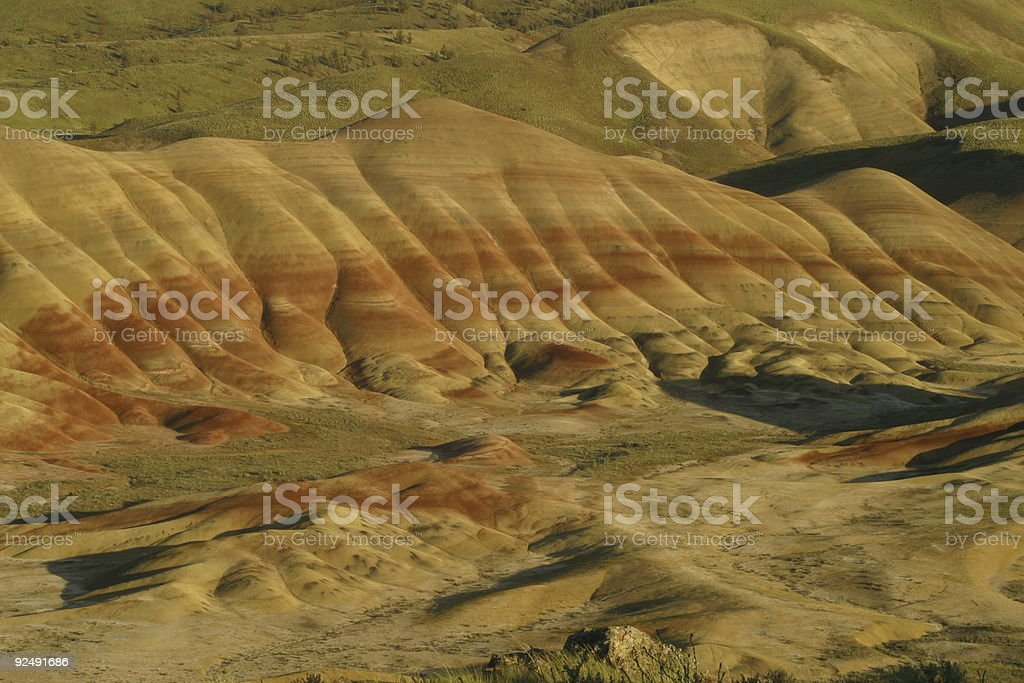 Painted hills 9 royalty-free stock photo