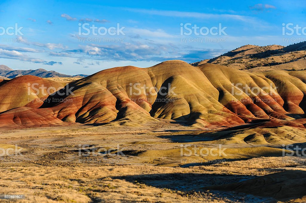 Painted Hills Oregon stock photo