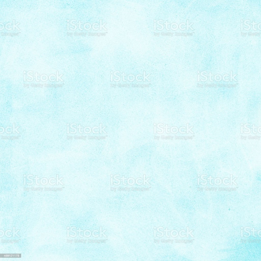 painted light blue watercolor background stock photo