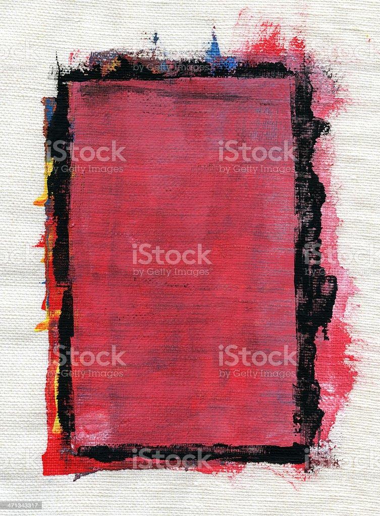Painted Linen Canvas.XXXXL royalty-free stock photo