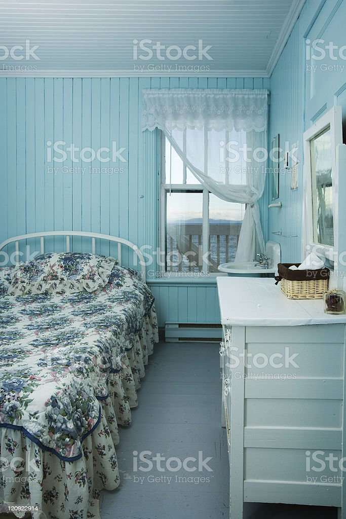 Painted room royalty-free stock photo