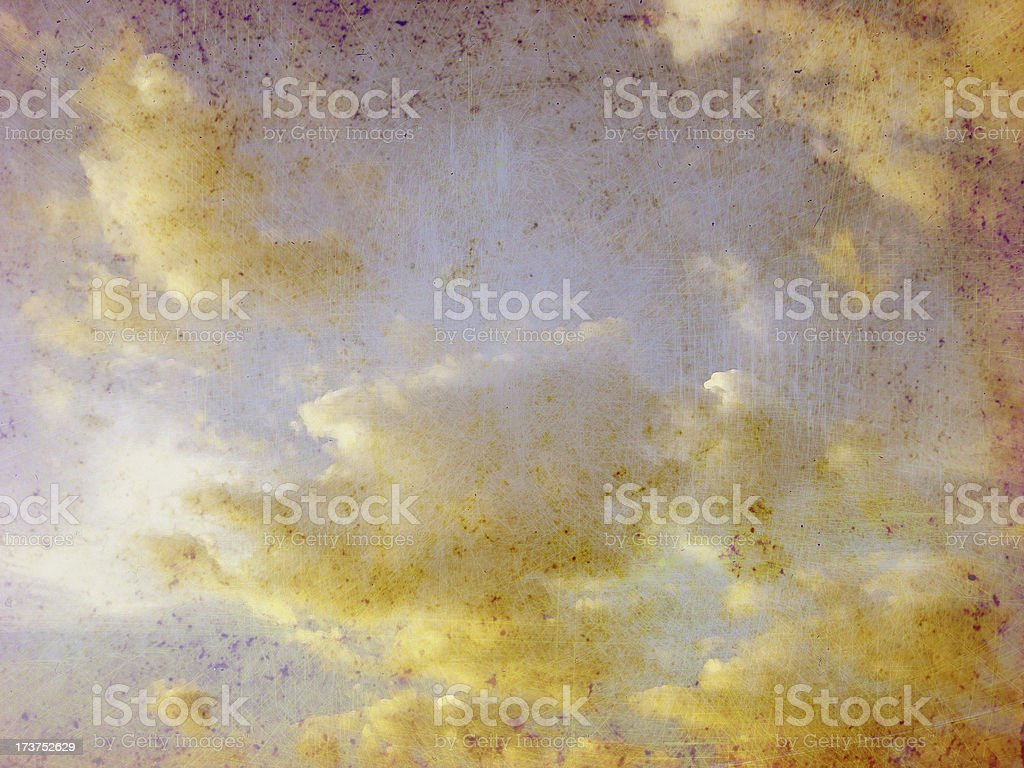 Painted Sky royalty-free stock photo