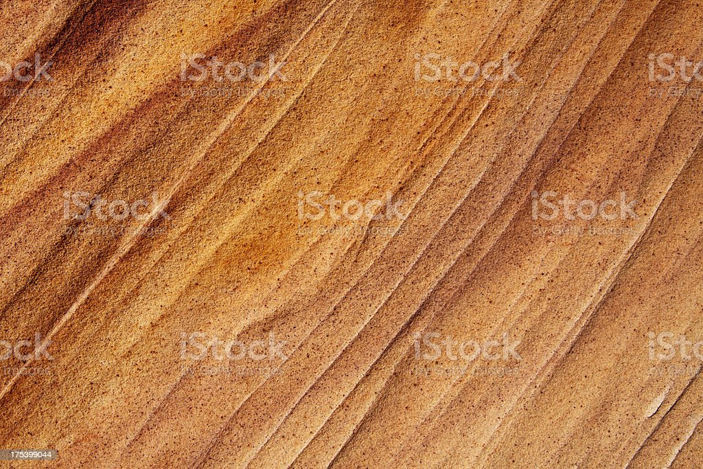 Painted stone royalty-free stock photo