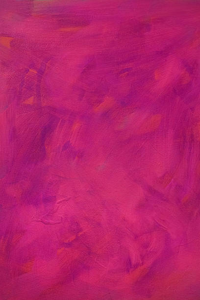Painted Texture in Magenta stock photo