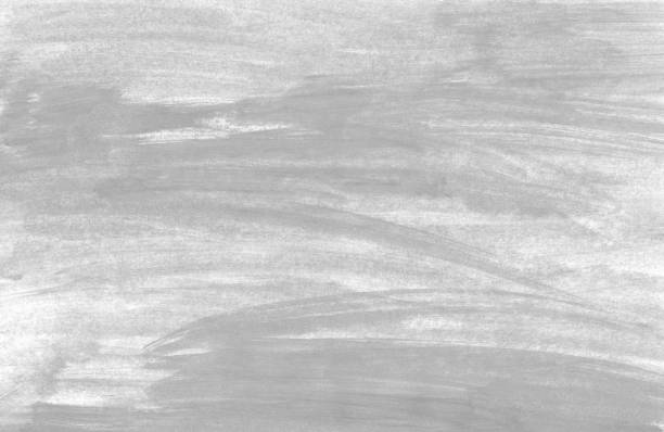 unordentlichen grauen hintergrund gemalt - foto tusche stock-fotos und bilder