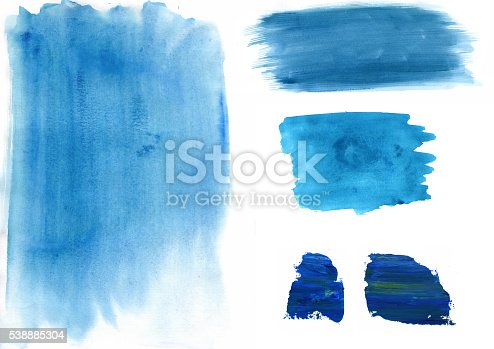 598092096istockphoto Painted Water colour Spodges, cirles 538885304