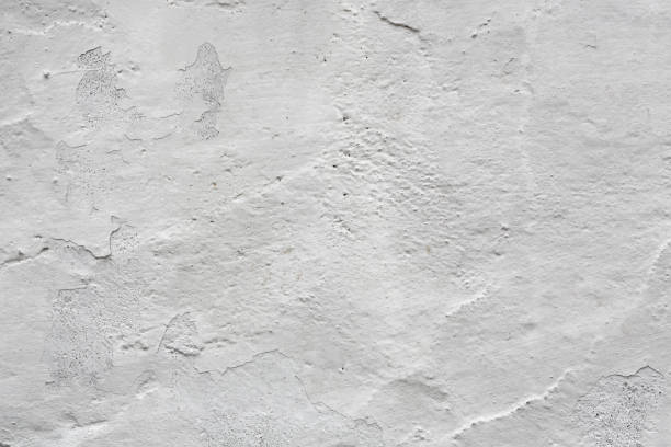 painted white wall stock photo