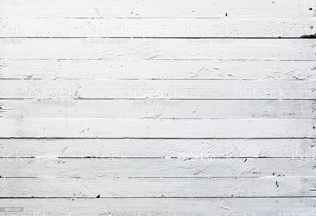 Painted white wooden plank texture royalty-free stock photo