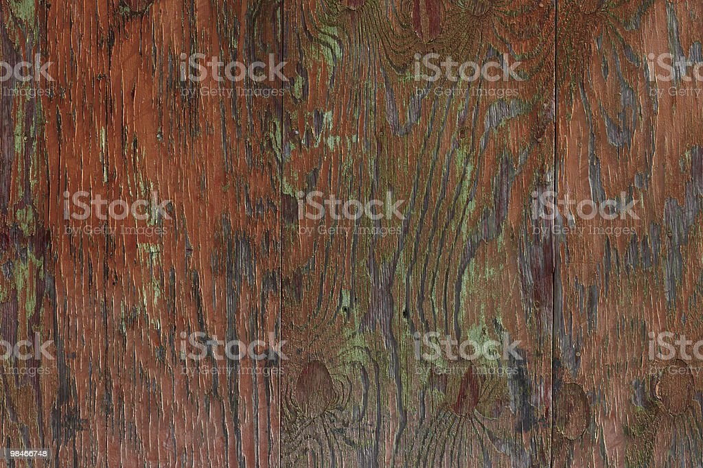 Superficie in legno dipinto foto stock royalty-free